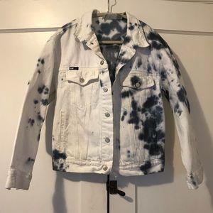 DKNY Denim Tye Dye Jacket